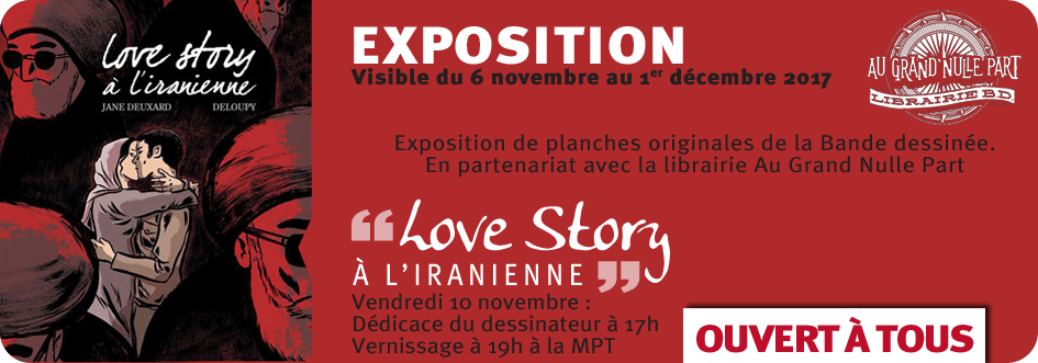 Dédicace Zac Deloupy - Love Story à L'Iranienne_ Librairie-Au-Grand-Nulle-Part