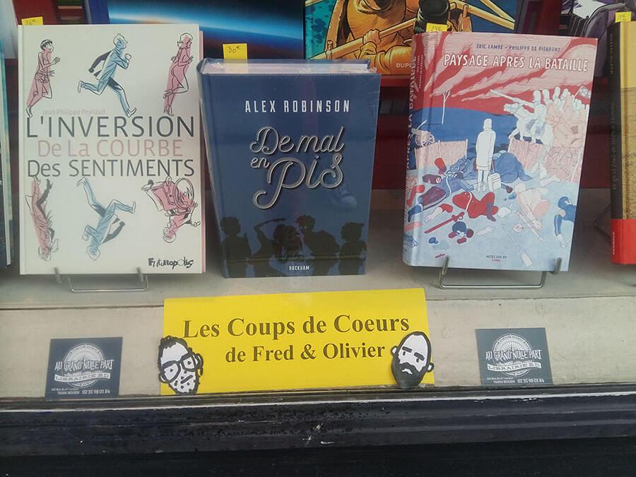 Librairie-Au-Grand-Nulle-Part_Vitrine-Coup de Coeur